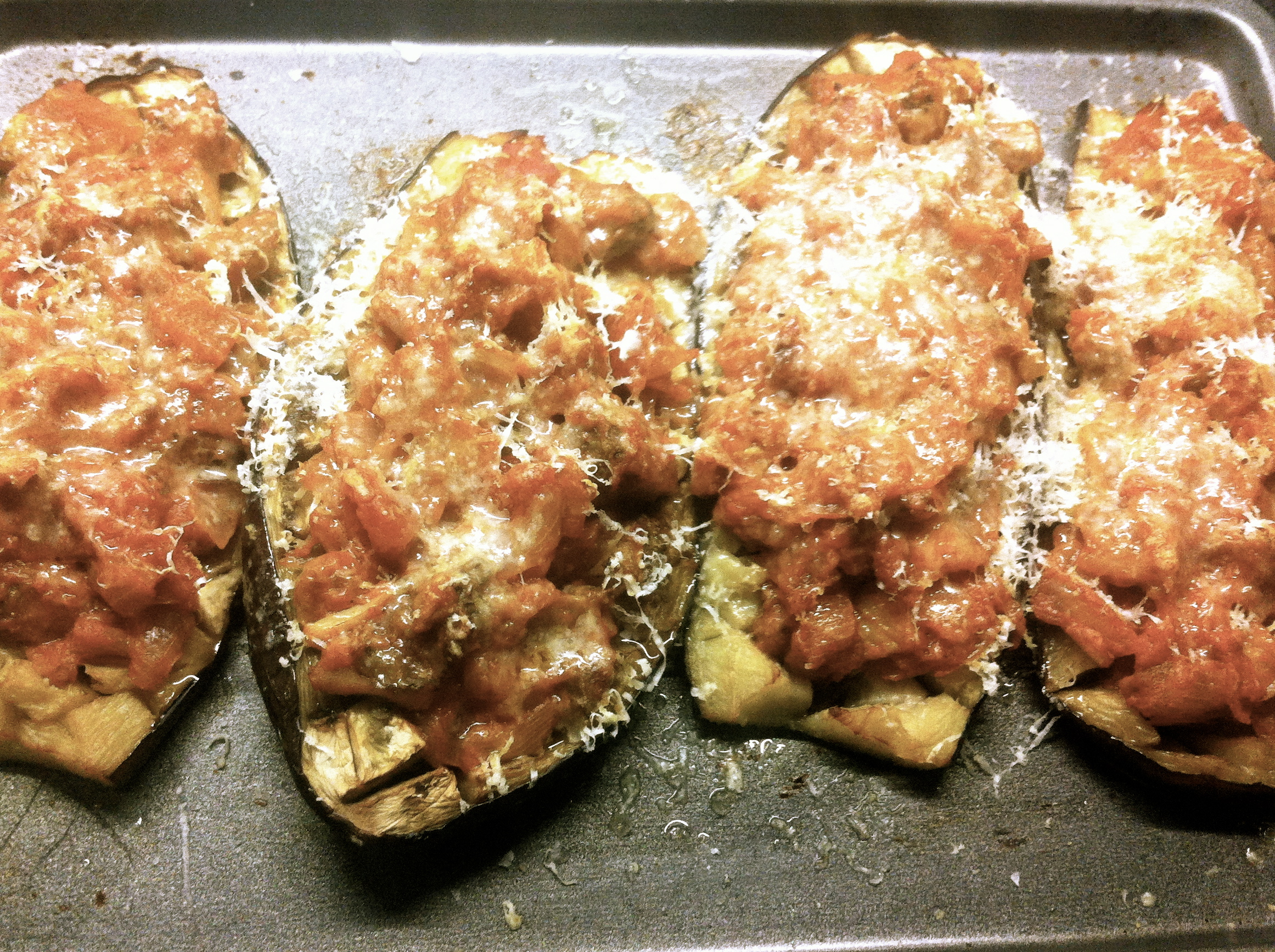 ... Lamb-Stuffed Aubergines With Manchego Cheese Recipes — Dishmaps